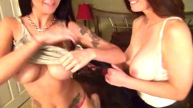 Mindi Mink and her girlfriend fuck in front of you